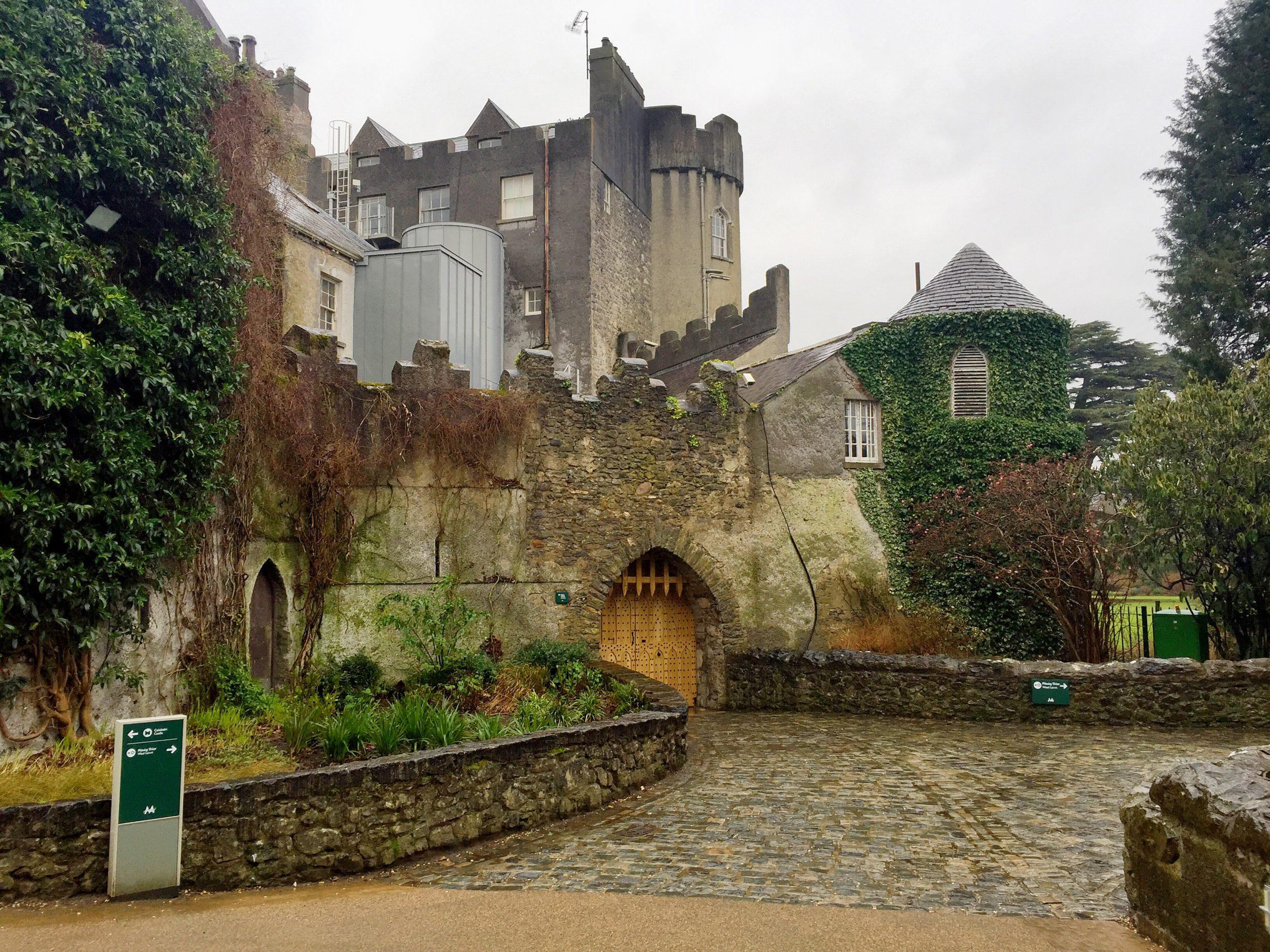 Malahide Castle Exterior