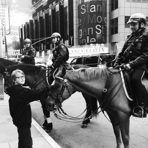 Times Square Horses